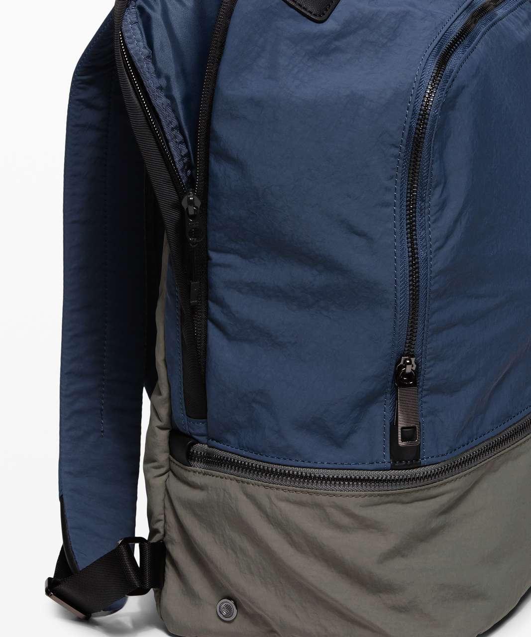 Lululemon City Adventurer Backpack *17L - Iron Blue / Grey Sage