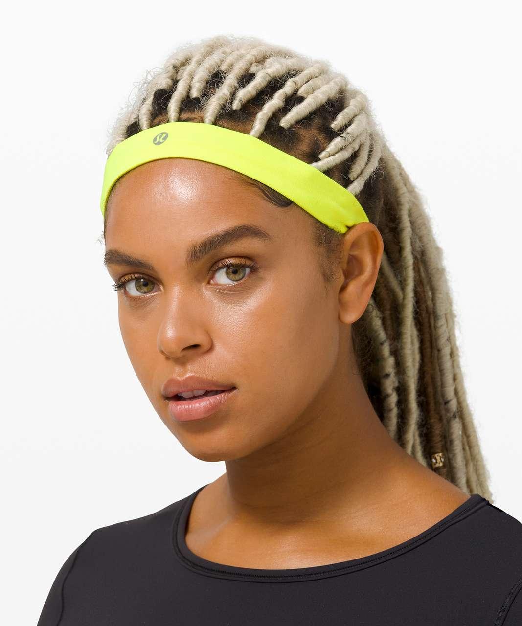 Lululemon Cardio Cross Trainer Headband - Yellow Highlight