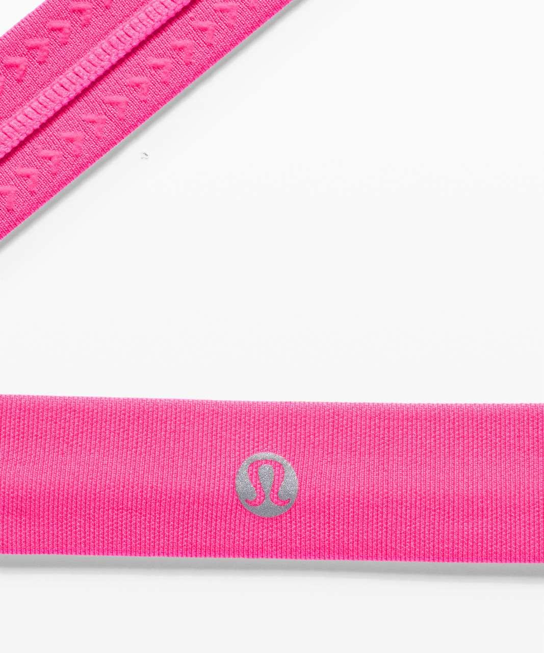 Lululemon Cardio Cross Trainer Headband - Pink Highlight