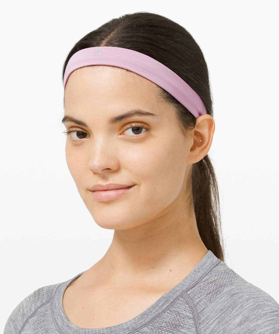 Lululemon Cardio Cross Trainer Headband - Heathered Pink Taupe