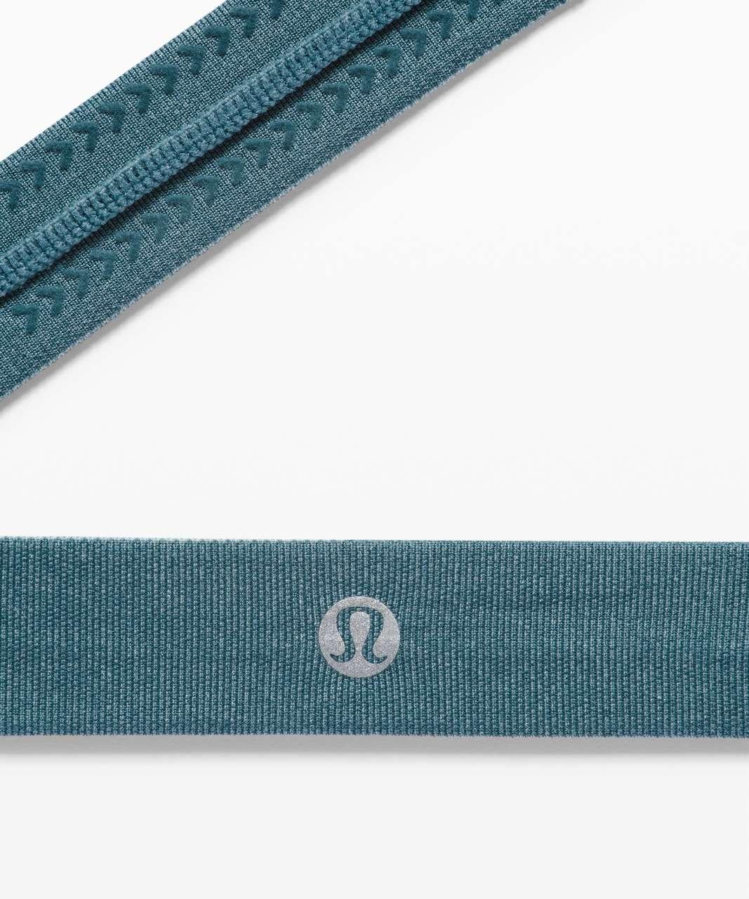 Lululemon Cardio Cross Trainer Headband - Heathered Desert Teal