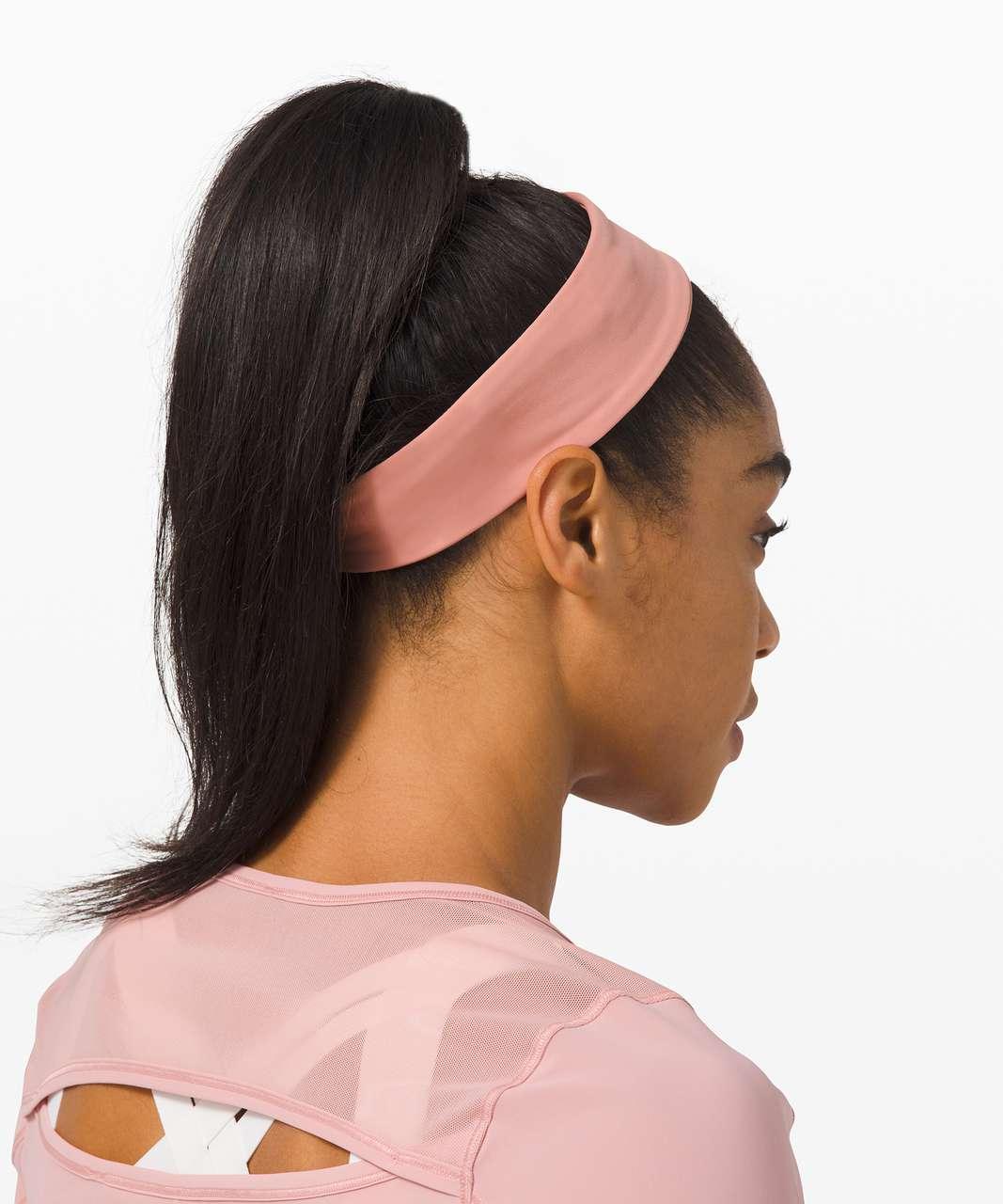 Lululemon Fly Away Tamer Headband II *Luxtreme - Pink Pastel