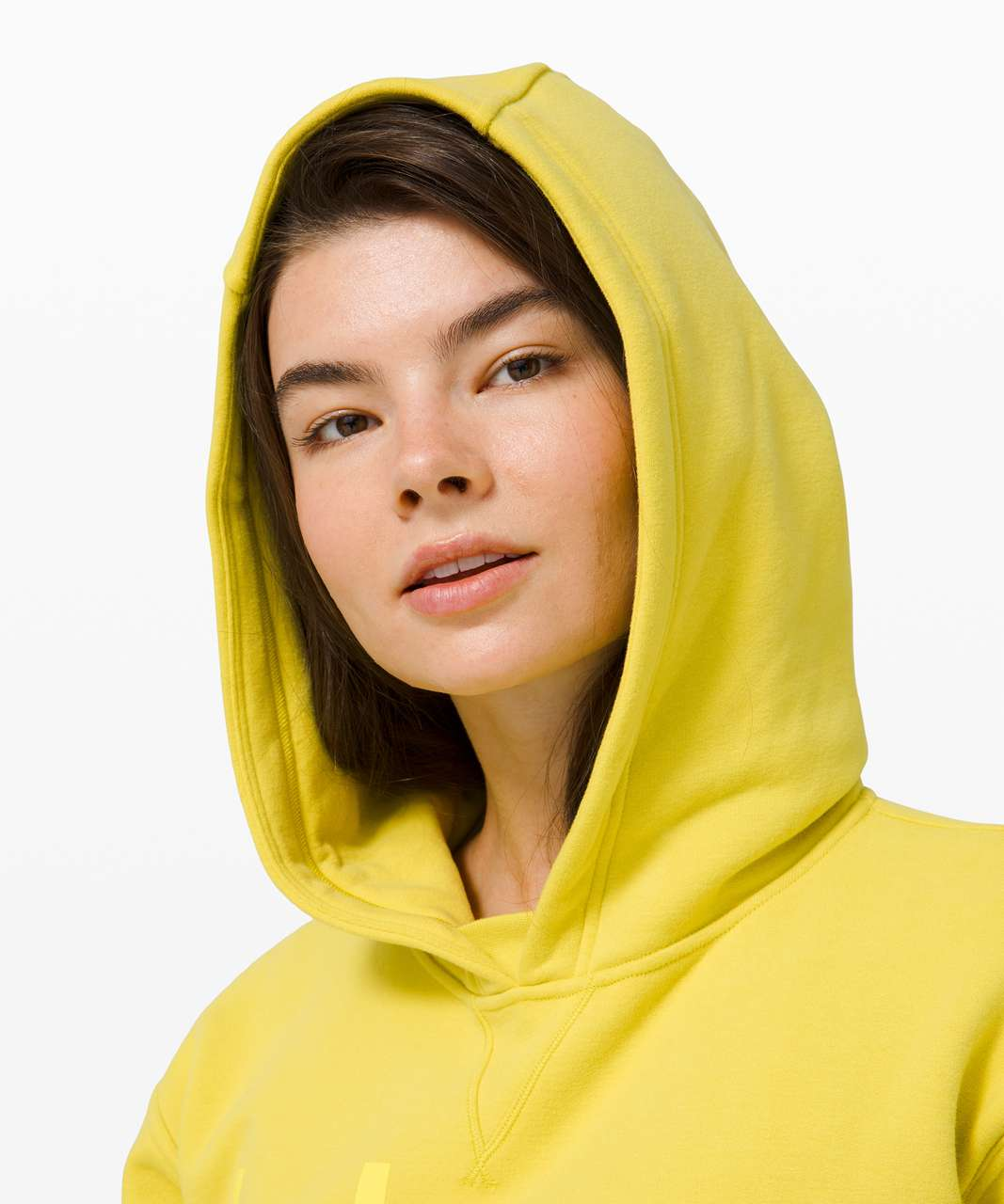 Lululemon All Yours Hoodie *Graphic - Yellow Serpentine