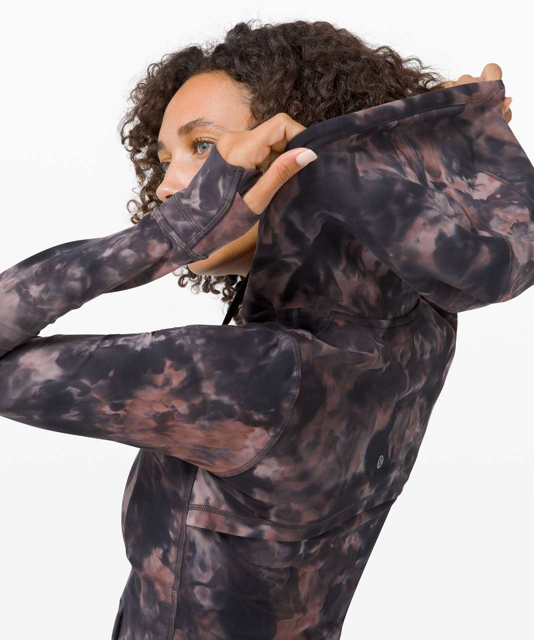 Lululemon Hooded Define Jacket *Nulu Diamond Dye - Diamond Dye Graphite Grey Pink Pastel