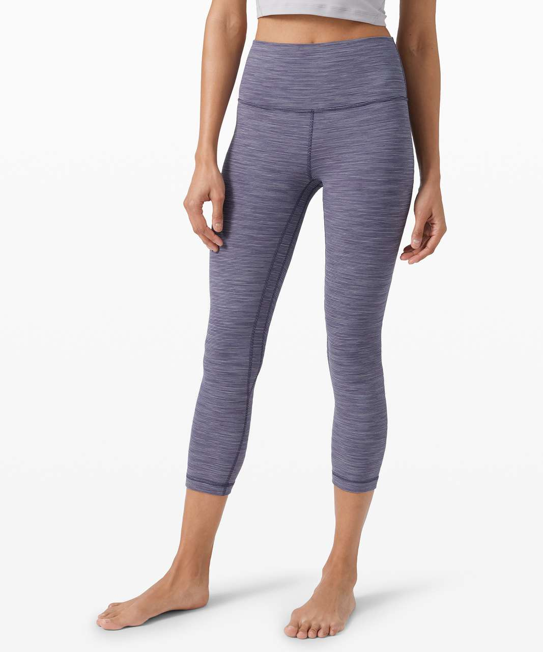 """Lululemon Align Crop *21"""" - Wee Are From Space Greyvy Persian Violet"""