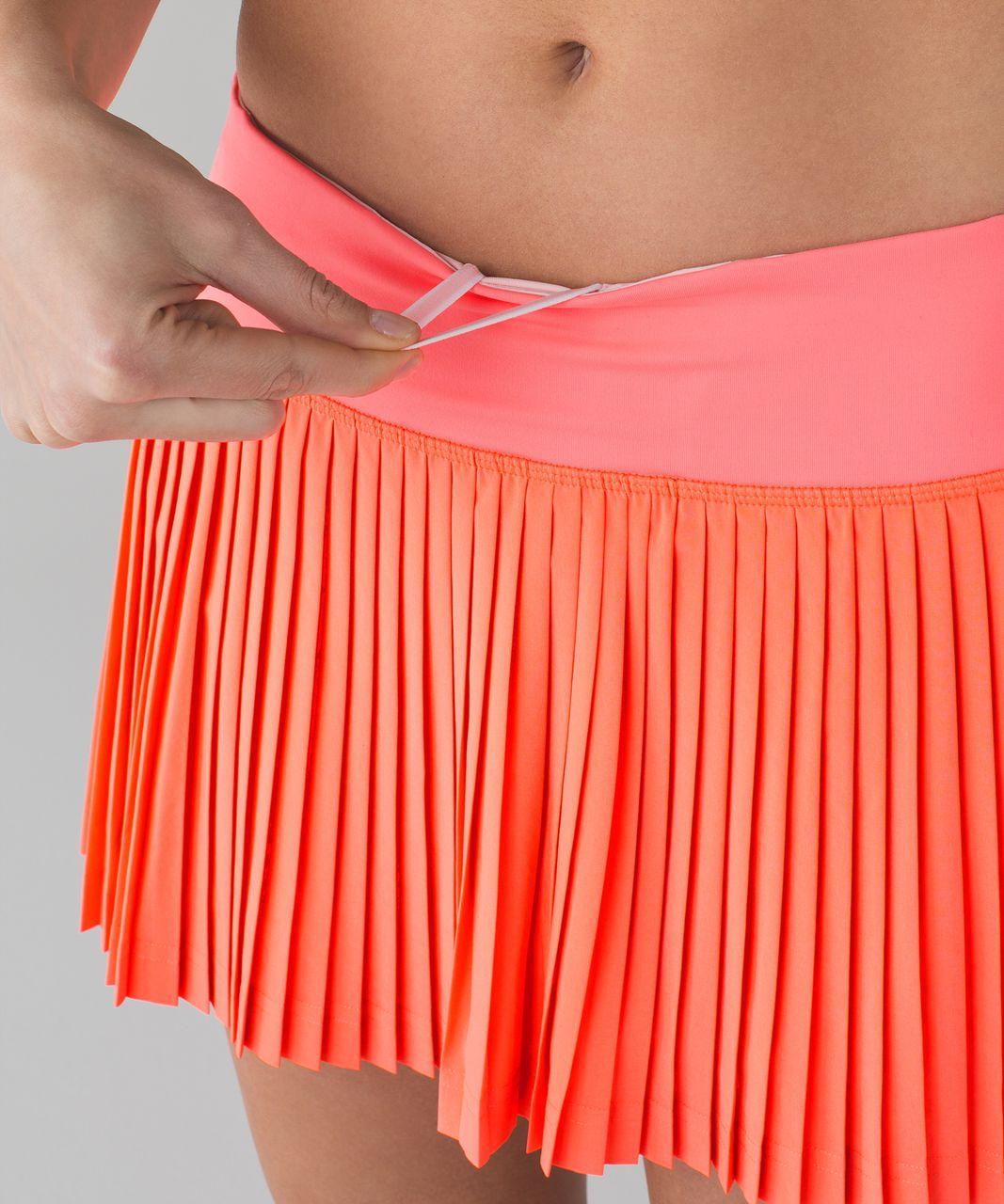 e7f310b02e Lululemon Pleat To Street Skirt II - Grapefruit - lulu fanatics