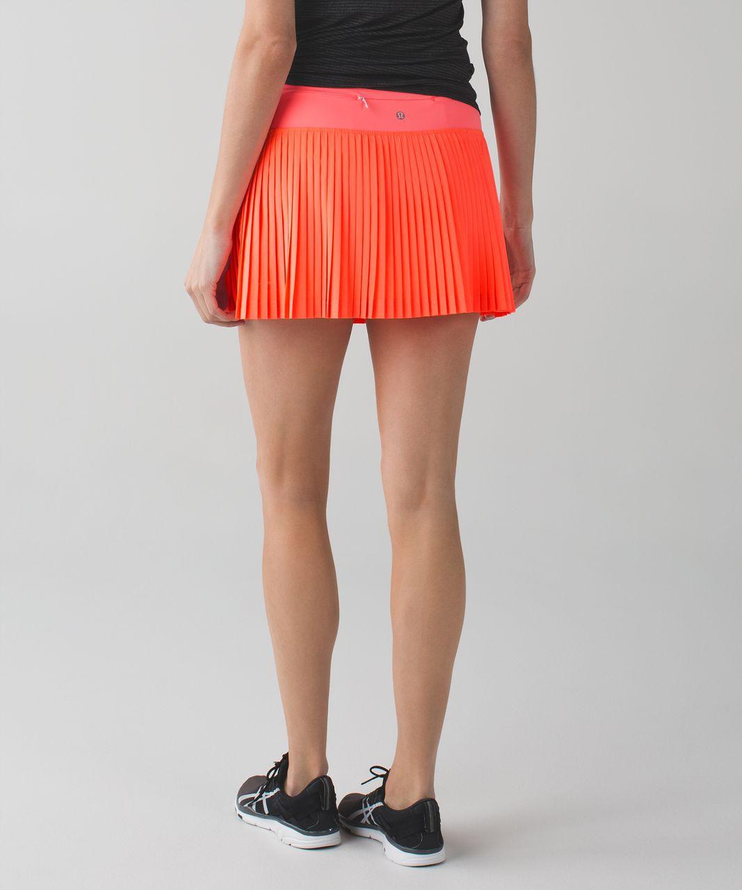 7e28c1f325 Lululemon Pleat To Street Skirt II - Grapefruit - lulu fanatics