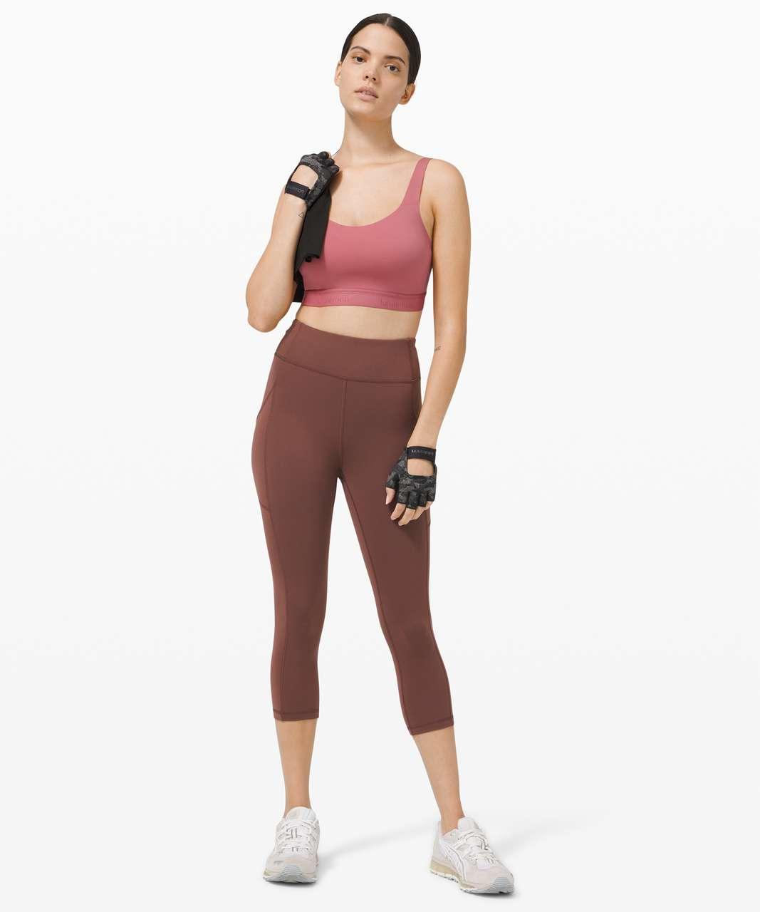Lululemon Fine Form Bra *Medium Support, A–E Cups - Brier Rose