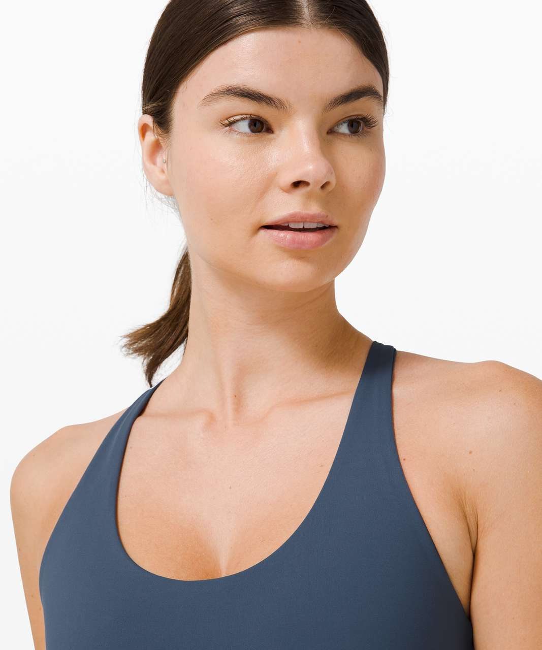 Lululemon Free To Be Moved Bra *Medium Support, A/B Cup - Iron Blue