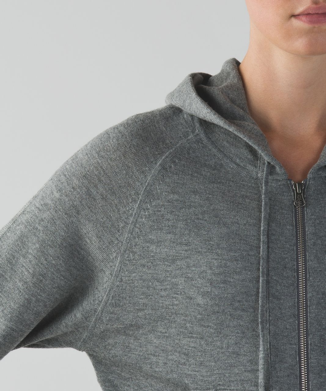Lululemon Om On Hoodie - Heathered Medium Grey