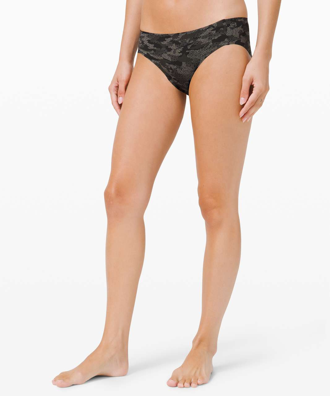 Lululemon Smooth Seamless Hipster - Collage Camo Mini Black Multi