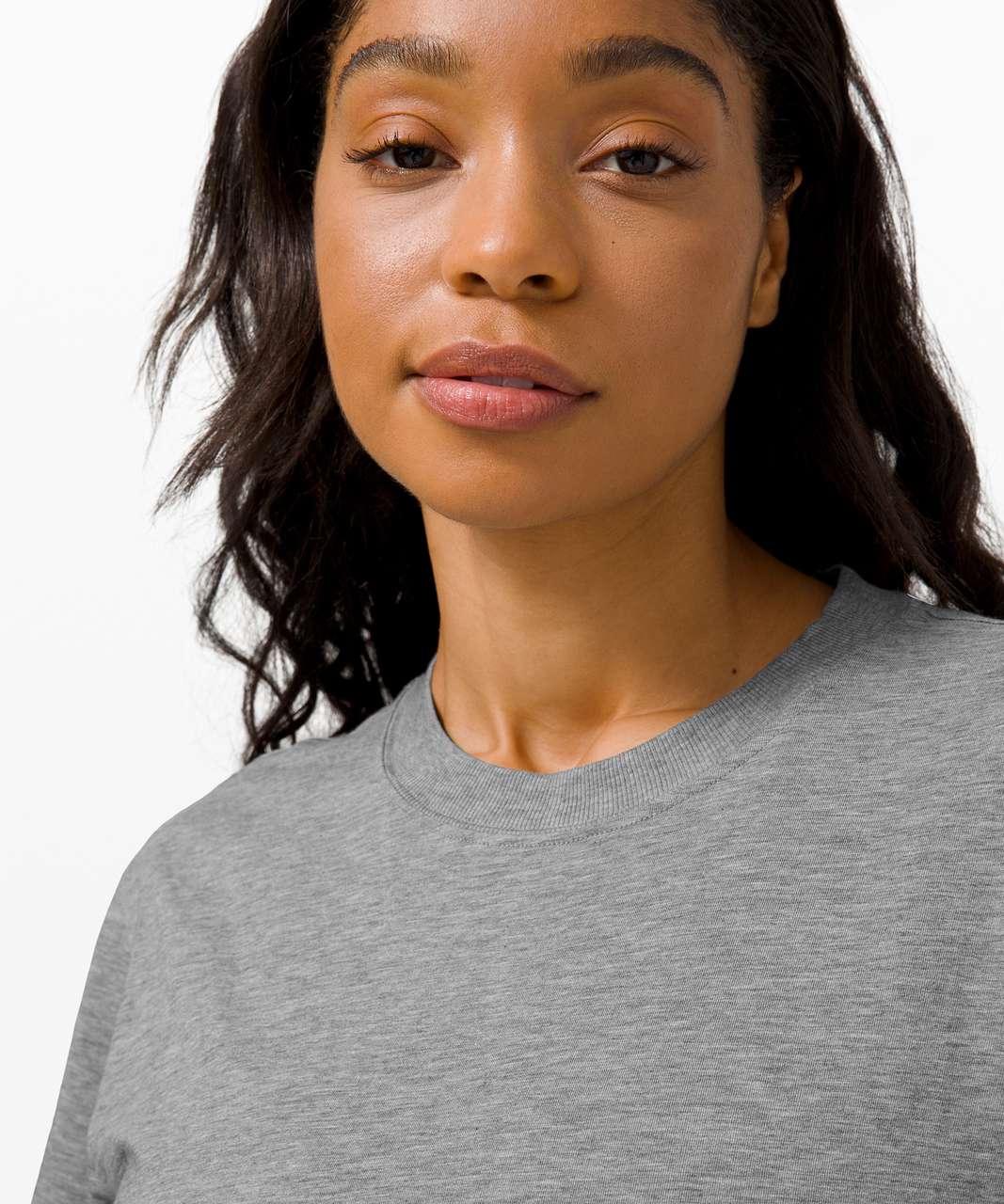 Lululemon All Yours Tee - Heathered Core Medium Grey