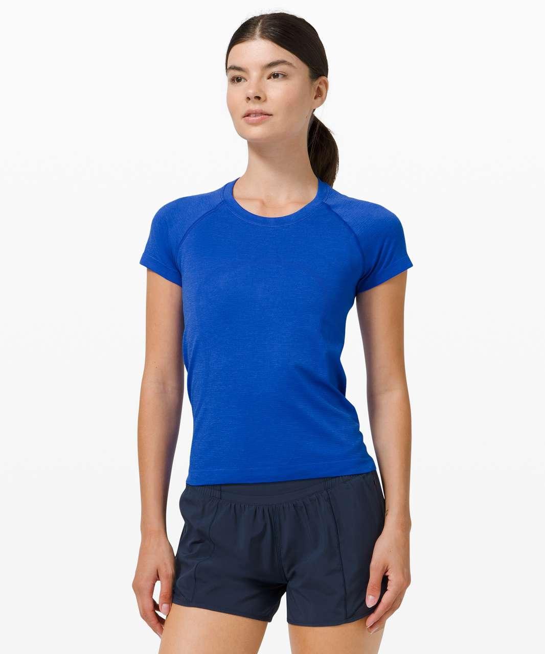 Lululemon Swiftly Tech Short Sleeve 2.0 *Race - Cerulean Blue / Cerulean Blue