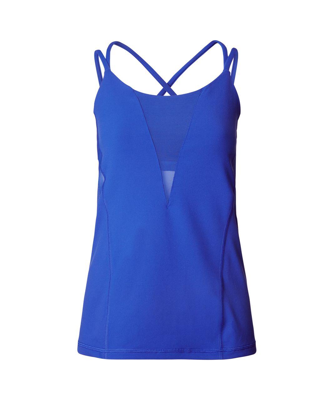 Lululemon Exquisite Tank - Sapphire Blue