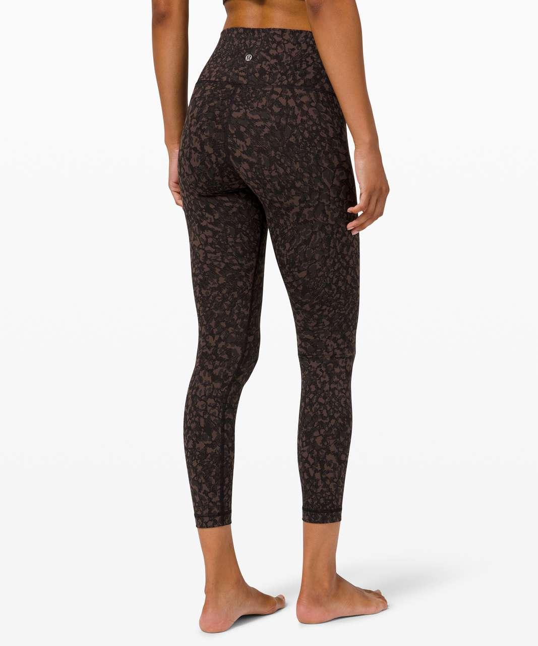 """Lululemon Wunder Under High-Rise Tight 25"""" *Full-On Luxtreme - Wild Thing Camo Brown Earth Multi"""