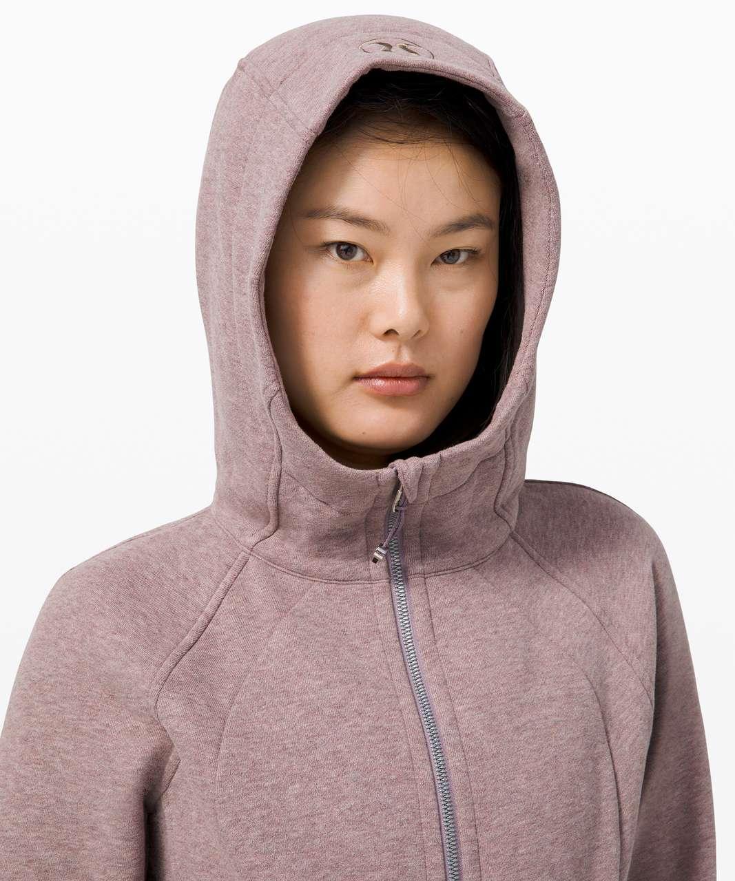 Lululemon Scuba Hoodie *Light Cotton Fleece - Heathered Violet Verbena