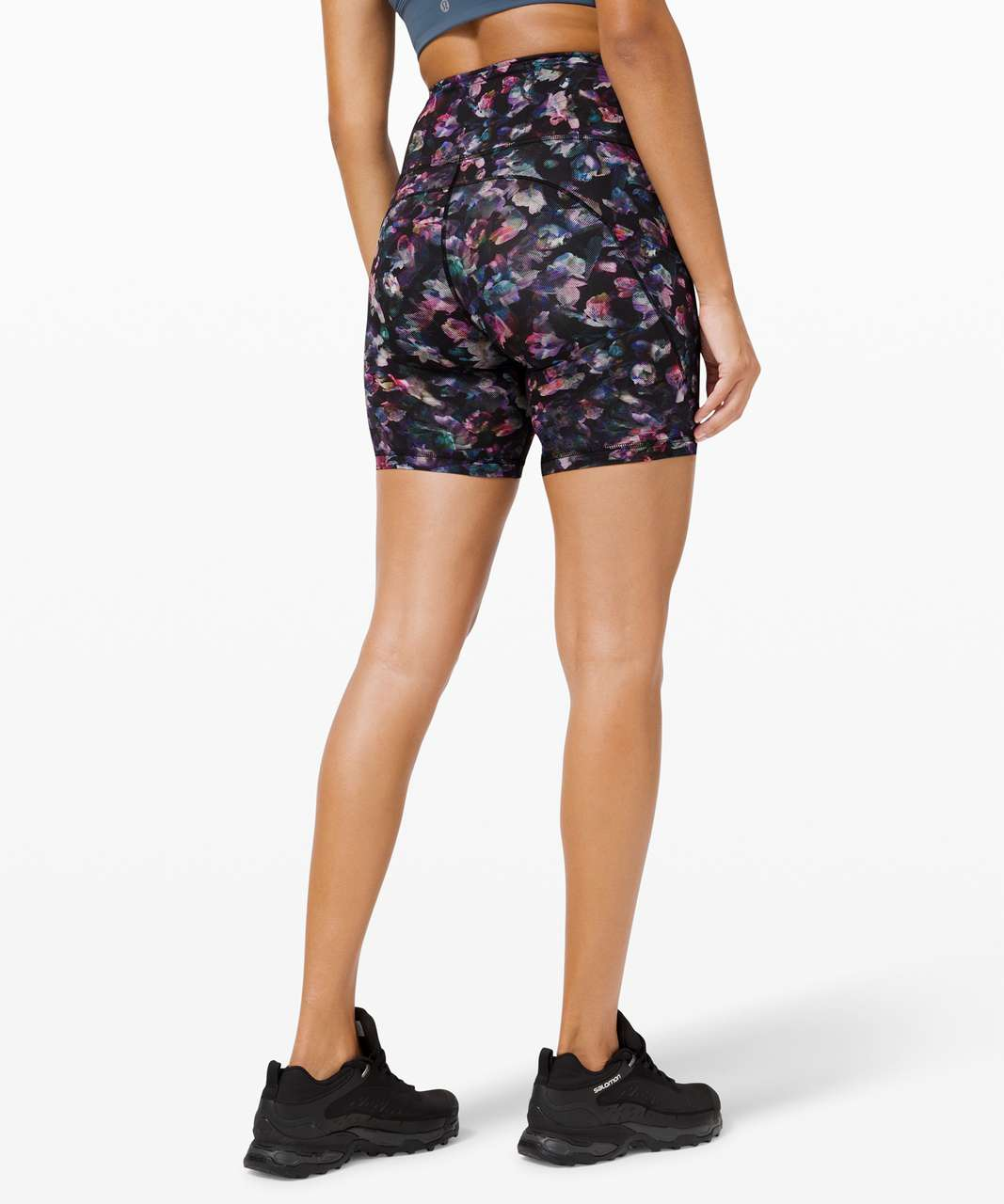 "Lululemon Fast and Free Short 6"" *Non-Reflective - Activate Floral Multi"