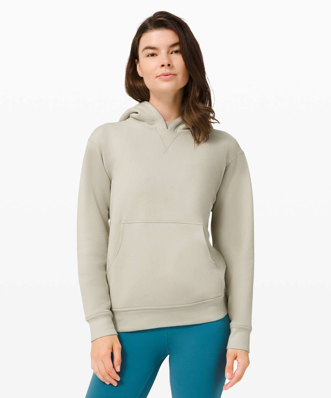 Lululemon All Yours Hoodie *Fleece - Light Sage