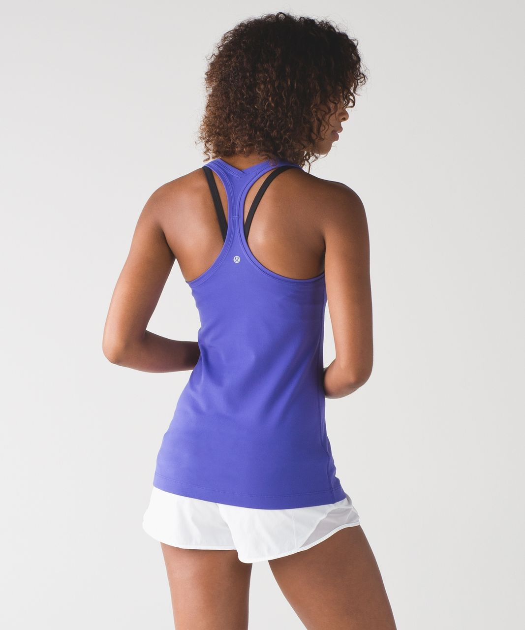 Lululemon Cool Racerback II - Super Purple