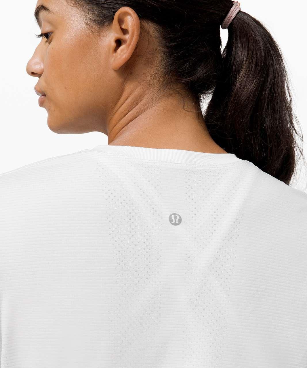 Lululemon Swiftly Breathe Long Sleeve - White / White