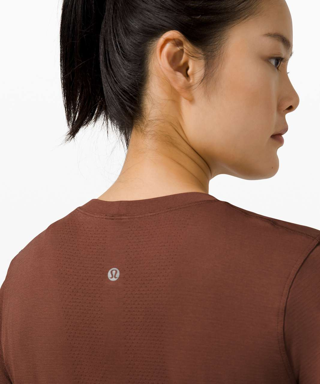 Lululemon Swiftly Breathe Long Sleeve - Ancient Copper / Ancient Copper
