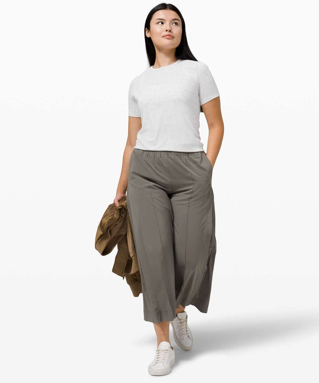 Lululemon Hold Tight Short Sleeve - Heathered Core Ultra Light Grey