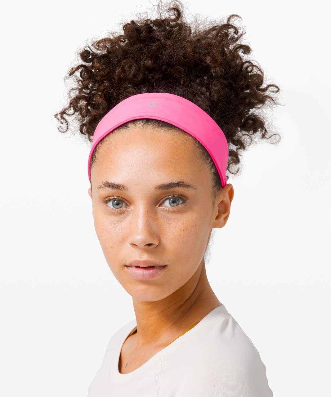 Lululemon Fly Away Tamer Headband II *Luxtreme - Pink Highlight