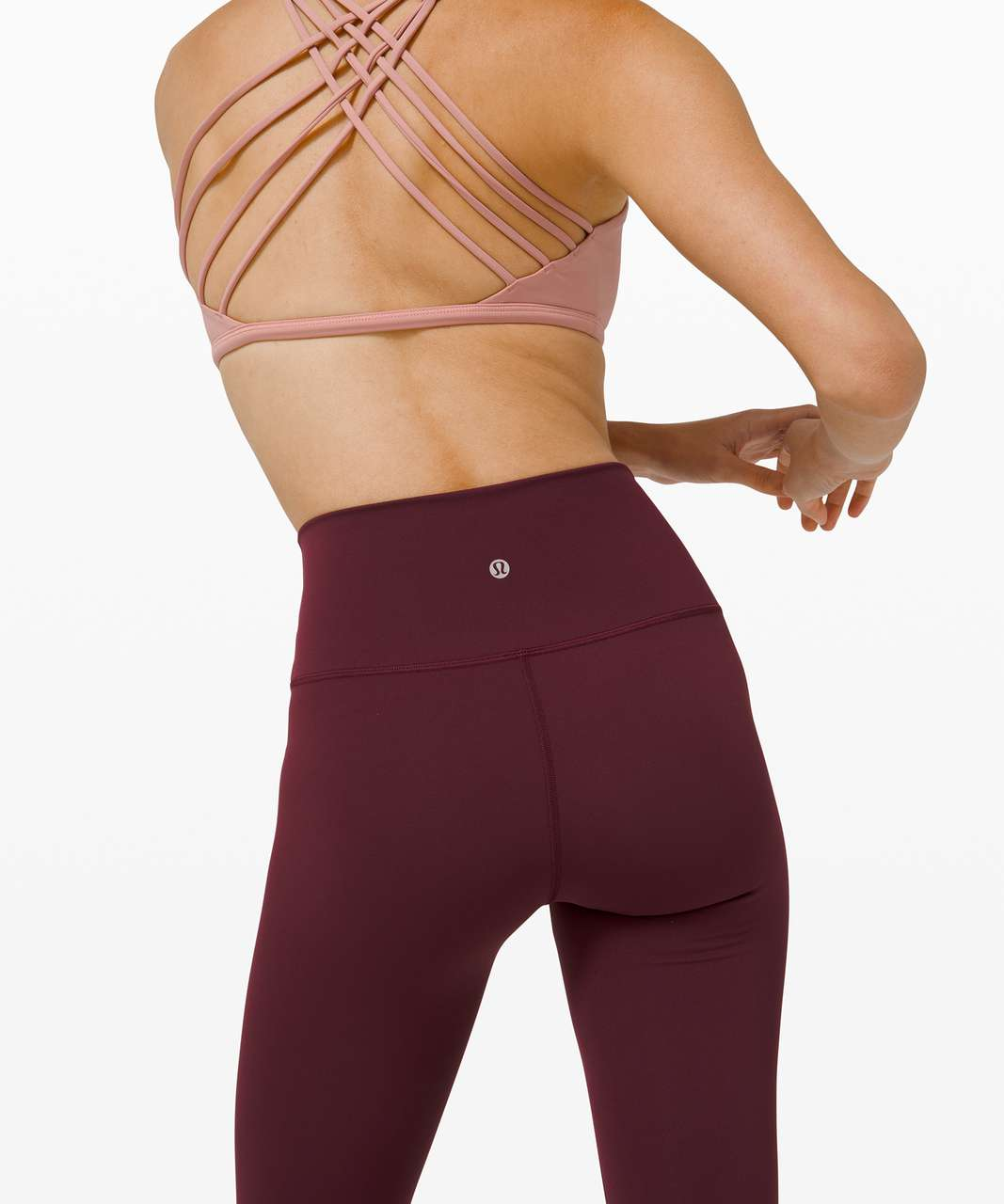 """Lululemon Wunder Under High-Rise Tight 28"""" *Full-On Luxtreme - Cassis"""