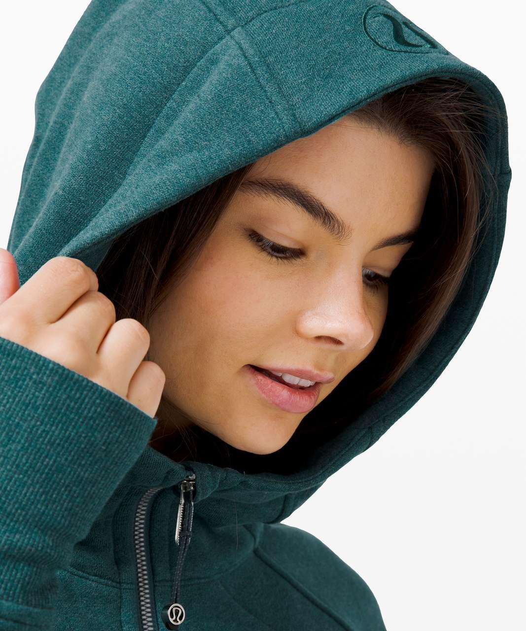 Lululemon Scuba Hoodie *Light Cotton Fleece - Heathered Desert Teal