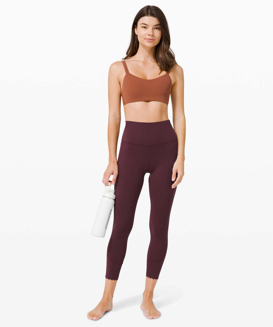 """Lululemon Align High-Rise Pant 25"""" *Scallop - Cassis"""