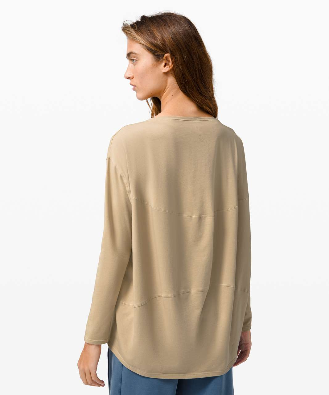 Lululemon Back In Action Long Sleeve - Trench
