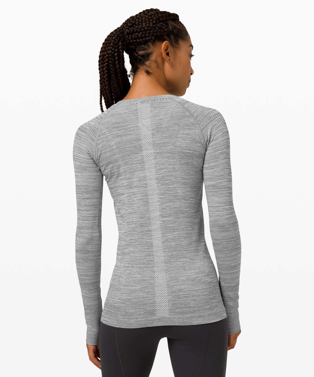 Lululemon Swiftly Tech Long Sleeve 2.0 - Wee Are From Space White