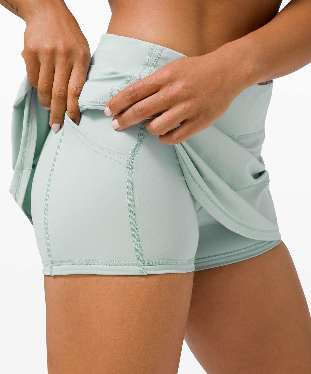 "Lululemon Pace Rival Skirt (Regular) *4-way Stretch 13"" - Hazy Jade"