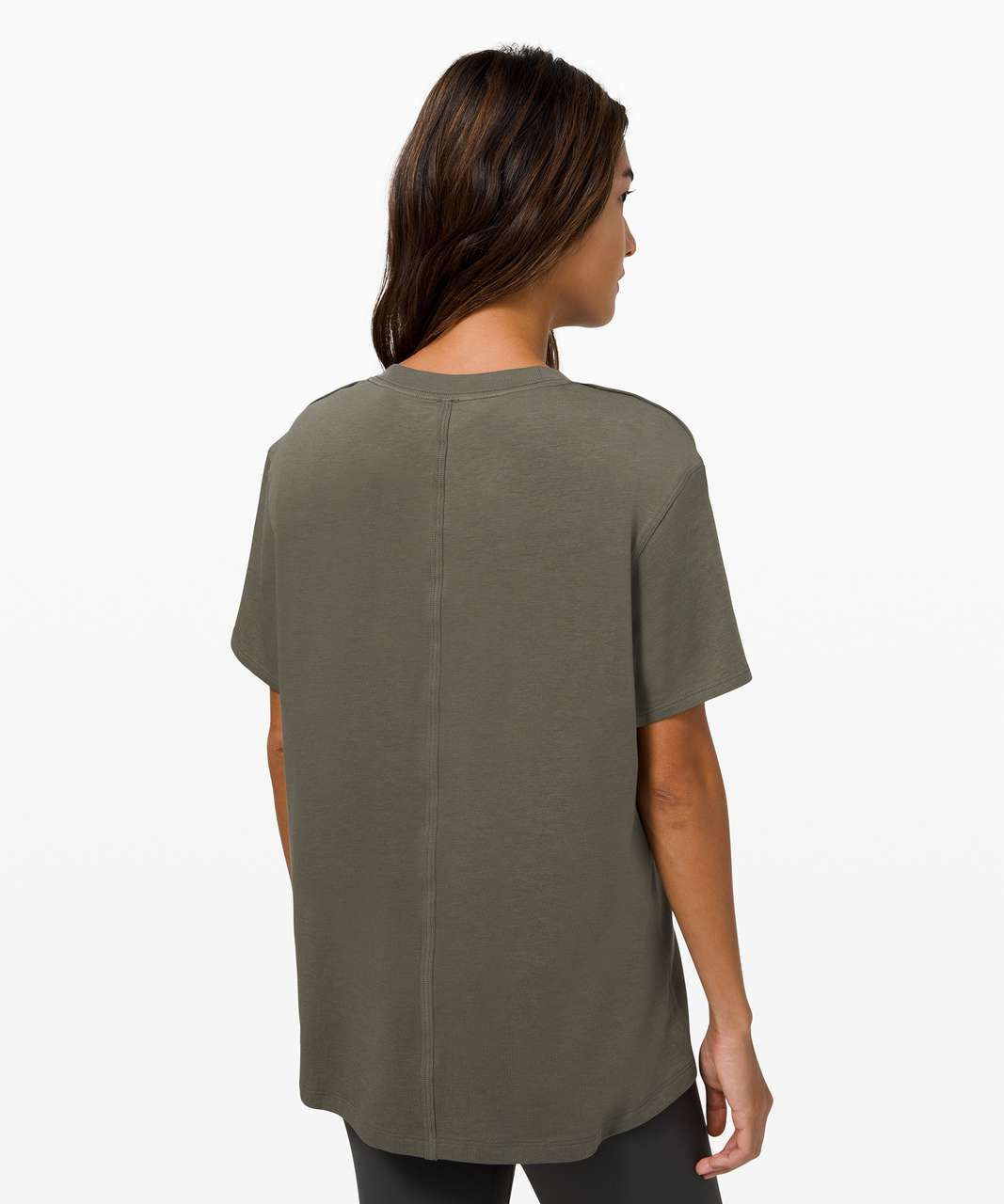 Lululemon All Yours Tee *Graphic - Army Green