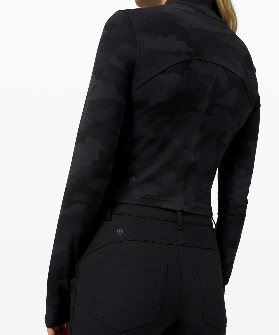 Lululemon All Aligned Mock Neck Long Sleeve *Nulu - Heritage 365 Camo Deep Coal Multi