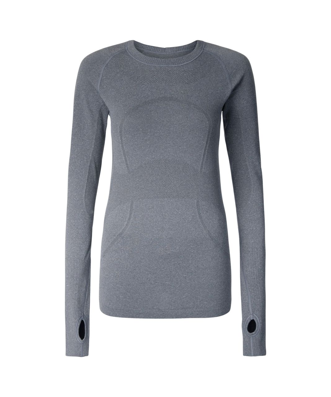 Lululemon Swiftly Tech Long Sleeve Crew - Heathered Slate (First Release)