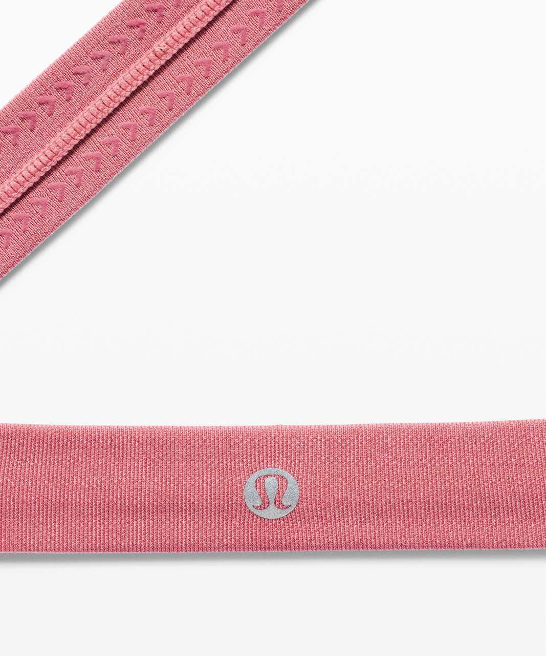 Lululemon Cardio Cross Trainer Headband - Heathered Brier Rose
