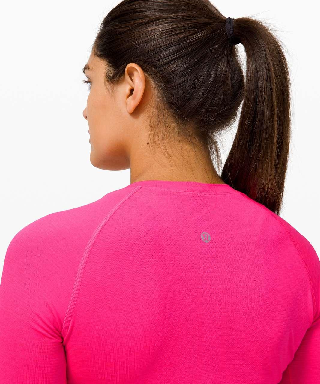 Lululemon Swiftly Tech Long Sleeve 2.0 *Race Length - Highlight Pink / Highlight Pink