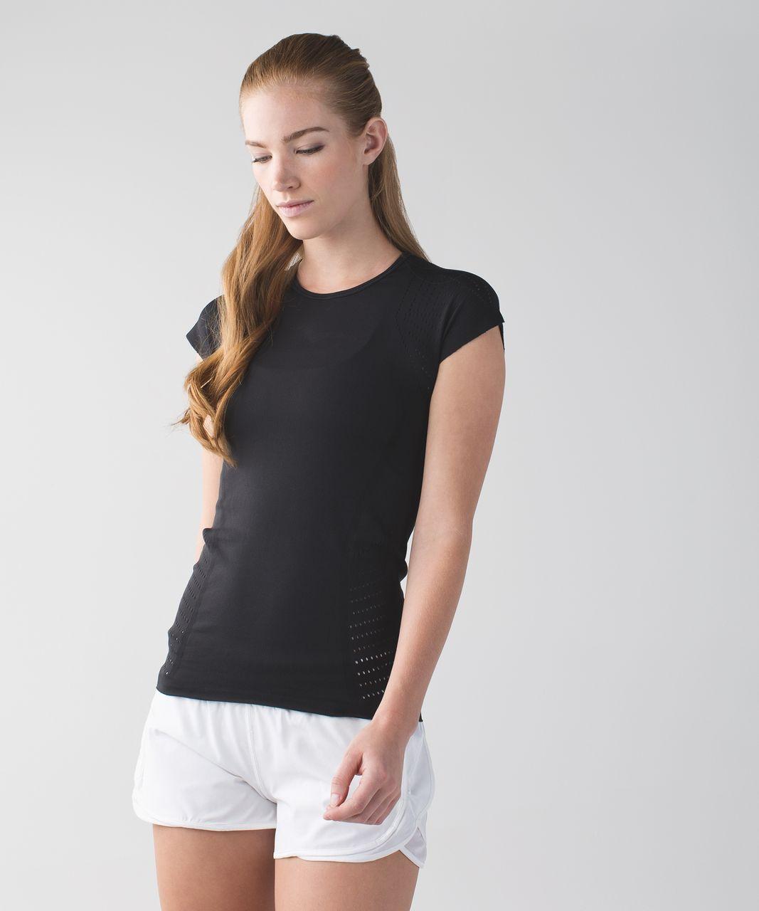 Lululemon Time Warp Short Sleeve - Black