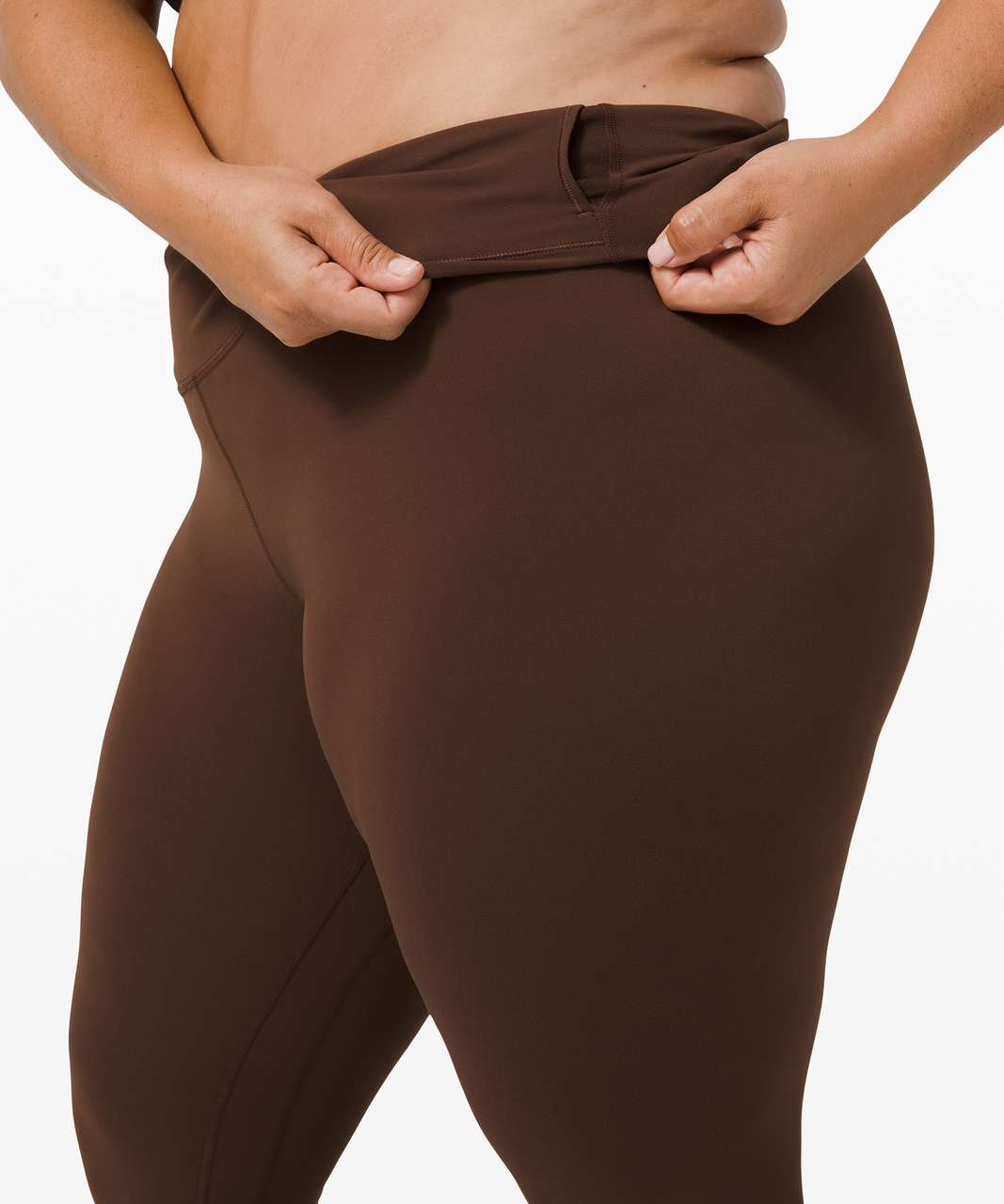 "Lululemon Align Pant II 25"" - Brown Earth"