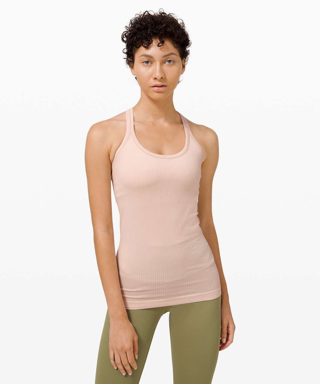 Lululemon Ebb To Street Tank *Light Support For B/C Cup - Silk Rose