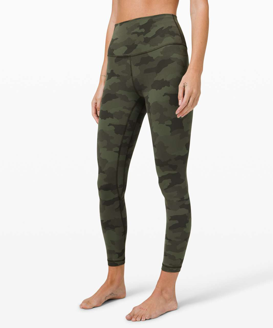 "Lululemon Align Pant II 25"" - Heritage 365 Camo Green Twill Multi"