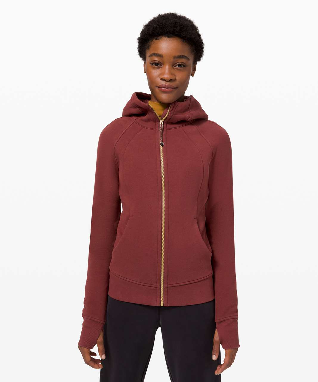 Lululemon Scuba Hoodie *Light Cotton Fleece - Savannah / Gold