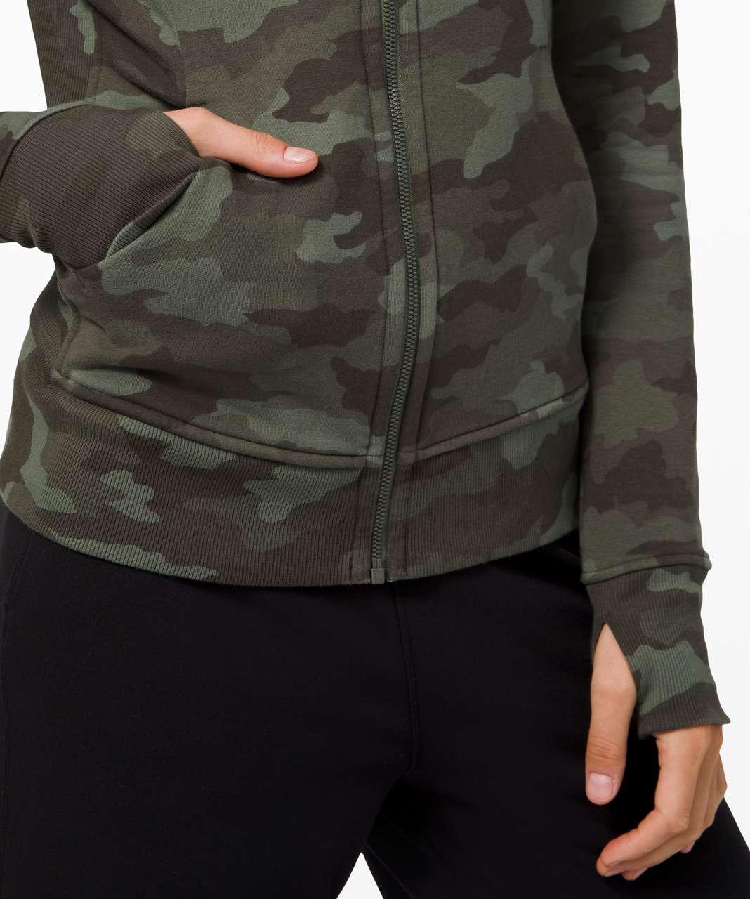Lululemon Scuba Hoodie *Light Cotton Fleece - Heritage 365 Camo Green Twill Multi
