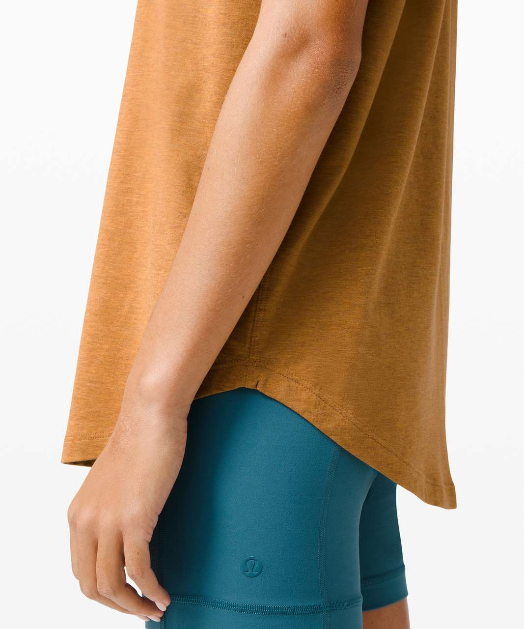 Lululemon Brunswick Muscle Tank - Heathered Spiced Bronze