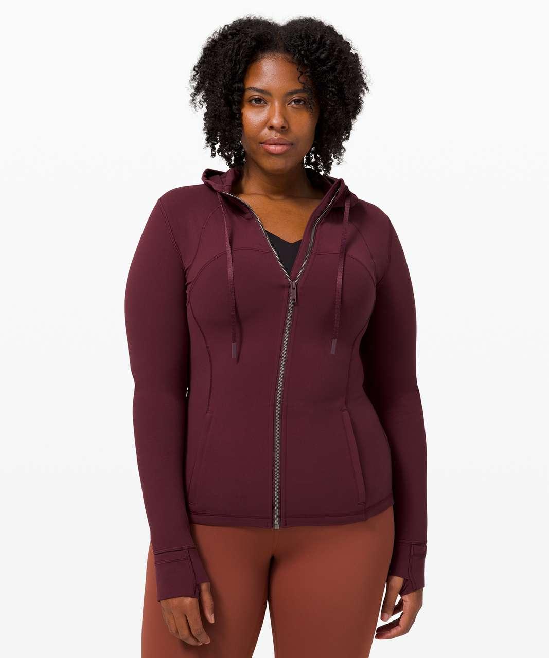 Lululemon Hooded Define Jacket *Nulu - Cassis