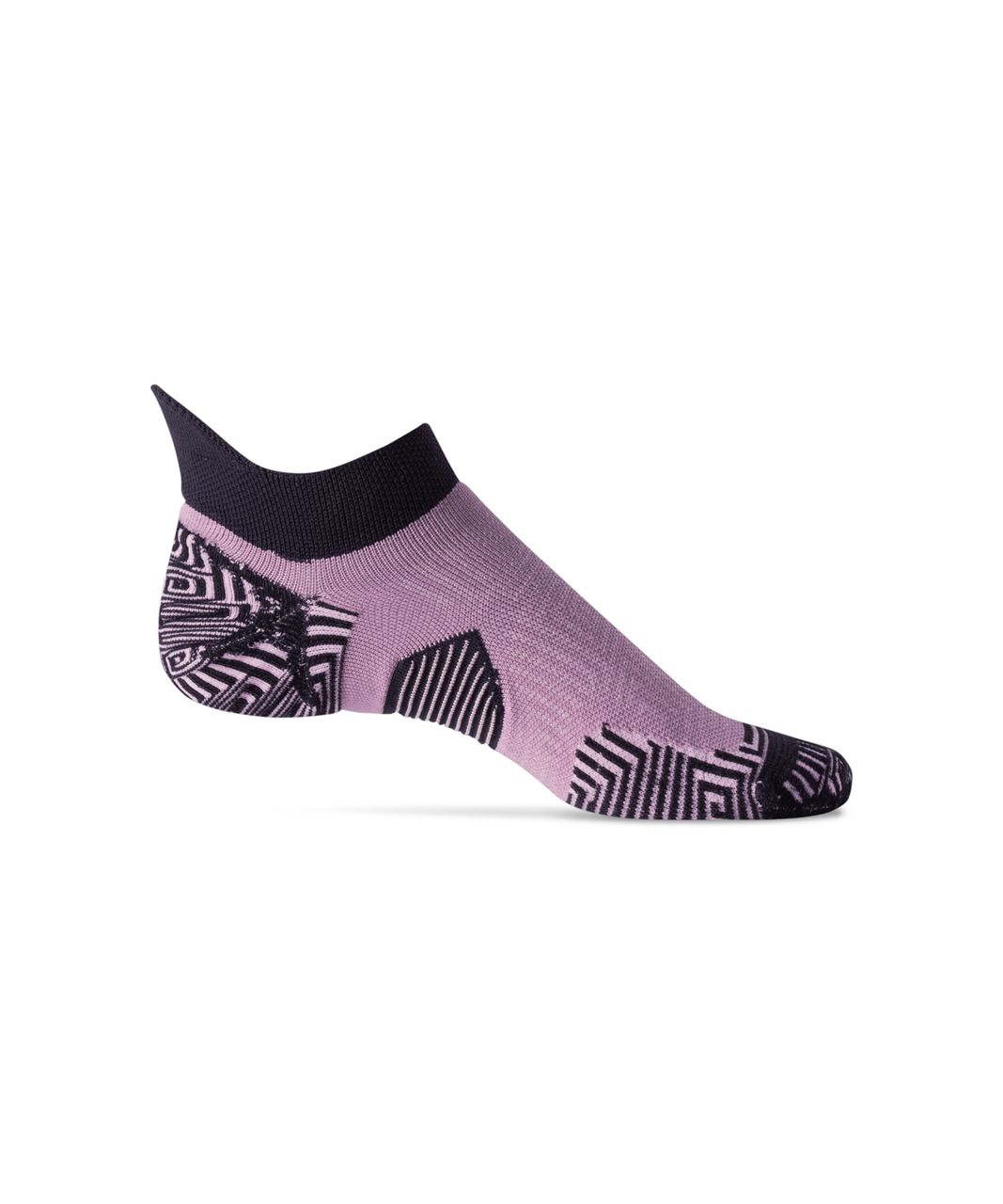 Lululemon Speed Sock *Silver - Black / Dusty Mauve / Rose Blush
