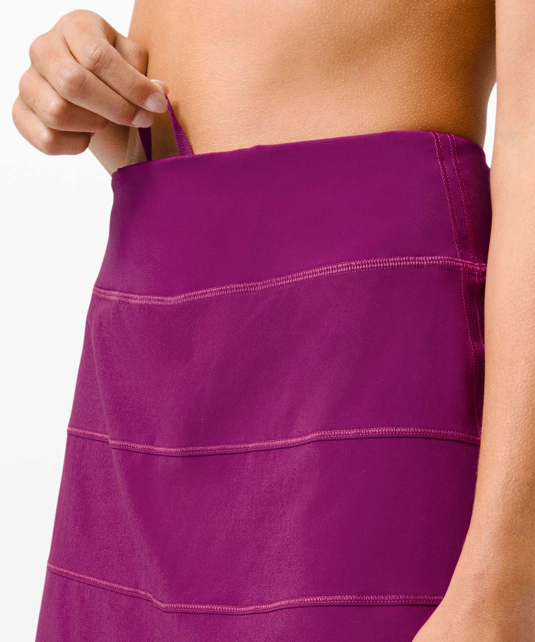 "Lululemon Pace Rival Skirt (Tall) *4-way Stretch 15"" - Deep Fuschia"