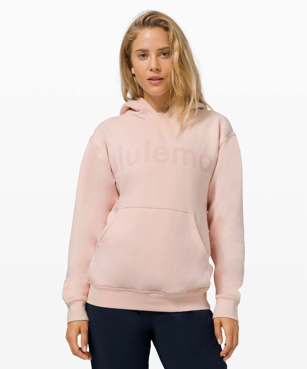 Lululemon All Yours Hoodie *Graphic - Feather Pink