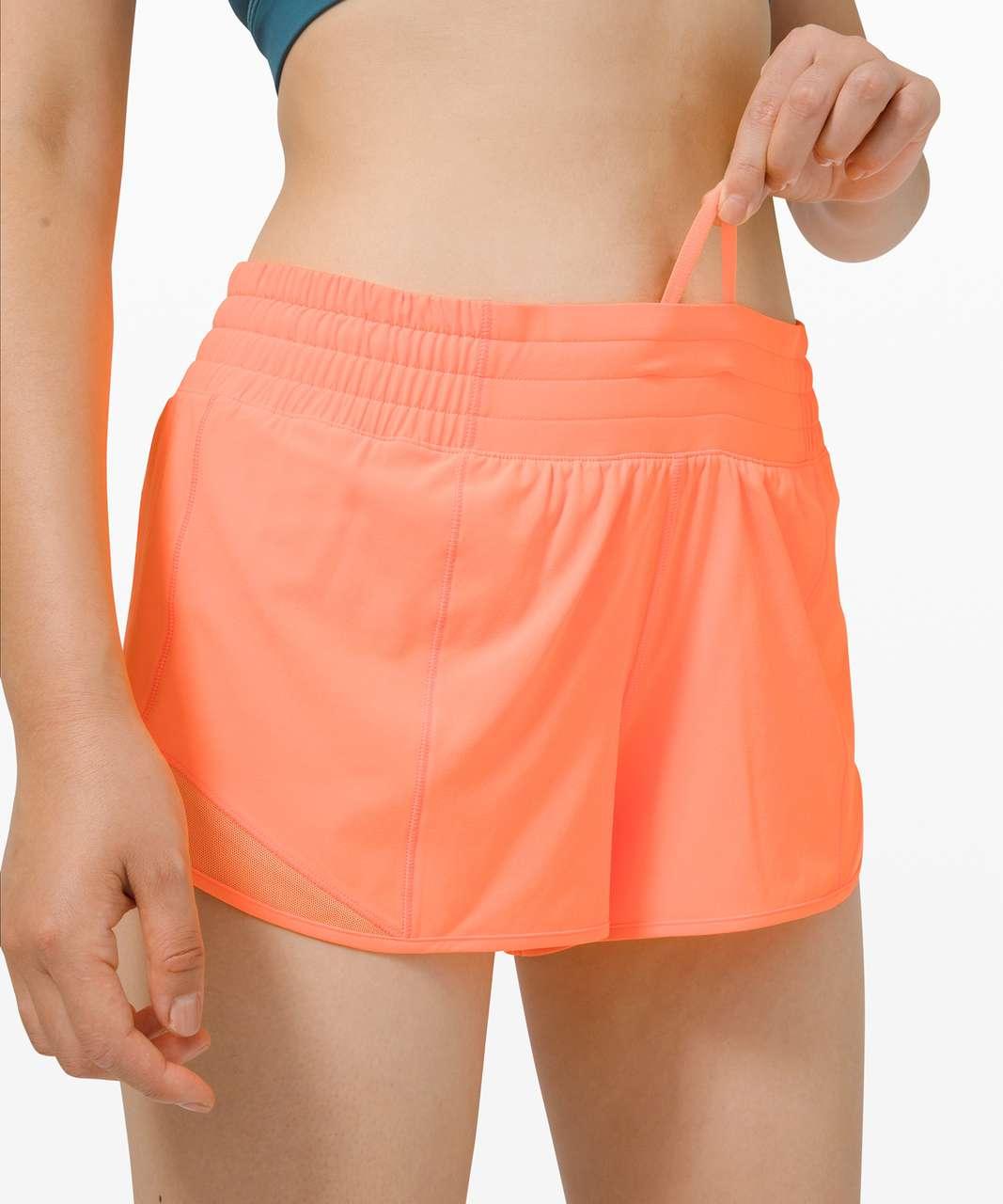 "Lululemon Hotty Hot Short *High-Rise 2.5"" - Highlight Orange"